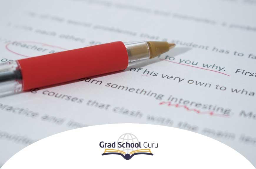sentences correction grad school guru